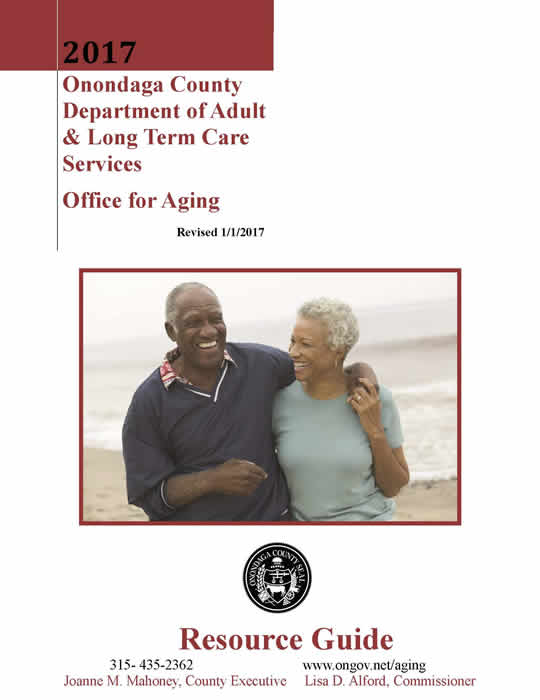Onondaga County Office for Aging Resource Guide 2017