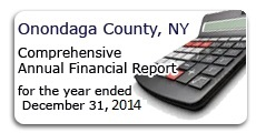 Onondaga County Comprehensive Annual Report Year Ending December 31, 2014
