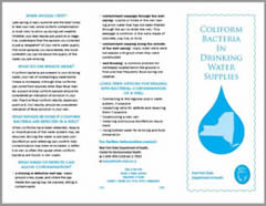 NYSDOH Coliform Bacteria in Drinking Water Supplies