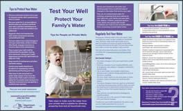 NYSDOH Test Your Well Protect Your Family's Water Flyer