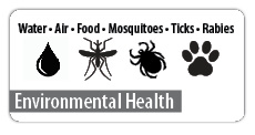 Click here to visit our Environmental Health page