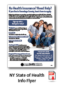 NY State of Health Flyer