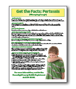 Pertussis Fact Sheet