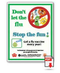 Don't Let Flu Stop the Fun