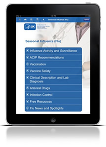 iPad App from CDC