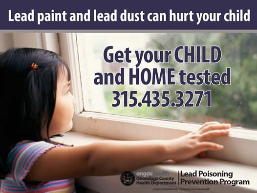 Get your child and home tested for lead!