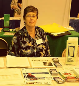 Barrie Gewanter at Senator Valesky's Community Information Fair
