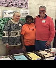 Commissioners Joyce Suslovic, Mary Alice Smothers & Bruce Carter at 2017 MLK Day Community Event