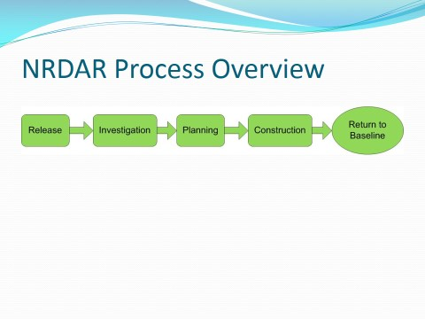 NRDAR Process overview