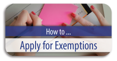 How to Apply for Exemptions