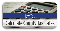 How to Calculate County Tax Rates