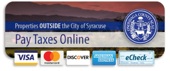 Pay Town Taxes for properties outside the City of Syracuse