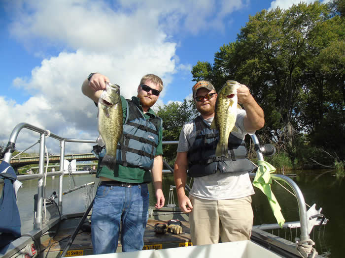 Largemouth Bass Caught in Onondaga Lake