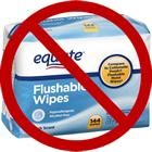 Don't Flush Wipes